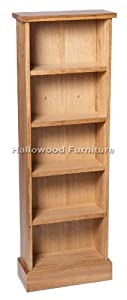 The Best  New Solid Oak DVD /CD Storage Tower Rack Stand