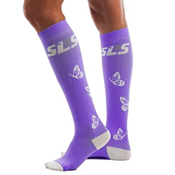 SLS3 Ladies Butterfly Compression Socks by SLS3