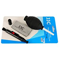 JJC CLEANING KIT, 1X CL-P1 LENS PEN, 1X DUST BLOWER (BLACK), 1X FIBER LENS CLOTH
