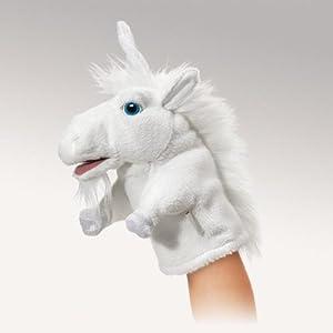 Little Unicorn Puppet by Folkmanis