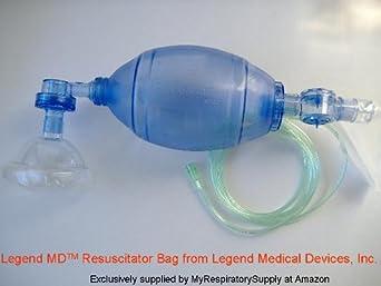 Manual Resuscitator Adult Latex Free