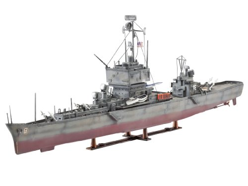 Revell Of Germany Atom Cruiser USS Long Be