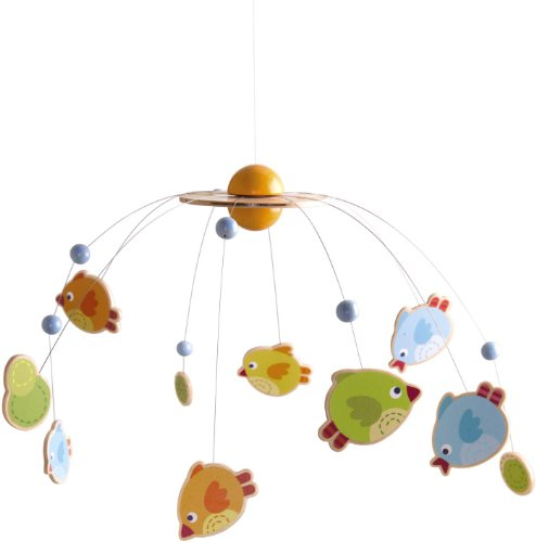 HABA Little Birds Mobile Crib Toy - 1