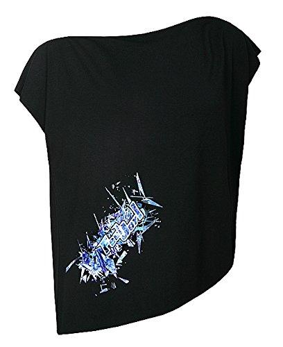 Feel JOY. Camicia da donna Blouse Cube, Donna, Bluse Blouse Cube, nero