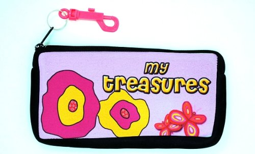 Kidzies Treasure Bagz, Poppies front-331729