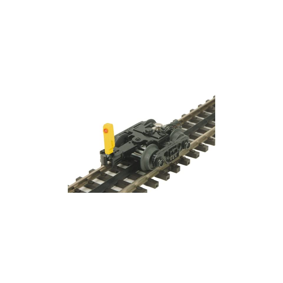 Yellow End of Train Device Roller Bearing Freight Truck Toys