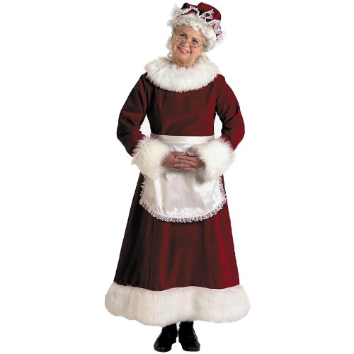 Halco - Mrs. Claus Dress Adult Plus Costume