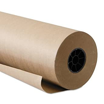 "Boardwalk KFT6060510 Kraft Paper, 60"" x 510 ft, Brown"