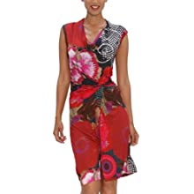 Desigual Women's Azucena Dress, Fresa, Medium
