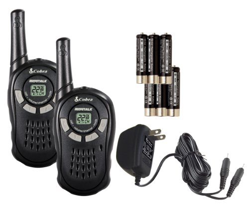 95addf16d1d Feature of Cobra MicroTalk CXT125 16 Mile 22 Channel FRS GRMS Two Way Radio