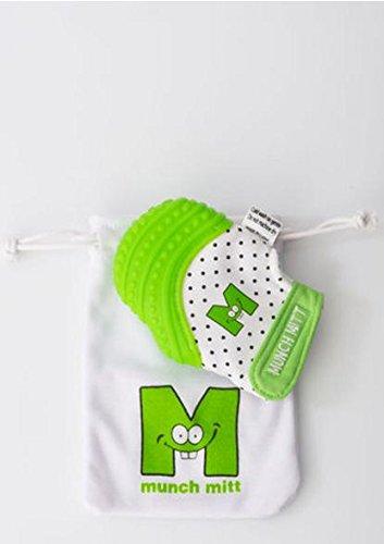 Munch Mitt Baby Teething Mitten - Green