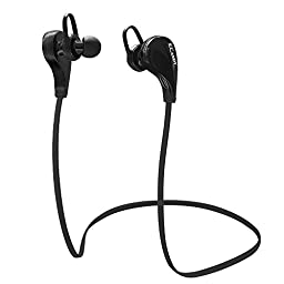 eCandy Wireless Bluetooth Noise Cancelling Headphones with Microphone, Black