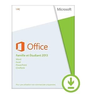 Office Famille et Etudiant 2013 - 1 PC [Téléchargement]