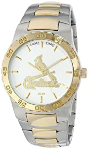Buy Game Time Mens MLB Executive Watch - St. Louis Cardinals by Game Time
