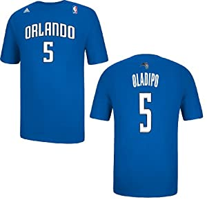 Orlando Magic Victor Oladipo Blue Name and Number T-Shirt by adidas