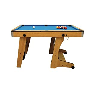 BCE FP FT Vertical Folding Pool Table Slight Seconds As New - Pool table price amazon