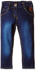 Little Kangaroos Baby Girls' Jeans (PL-1180_Dark Blue_2 year)