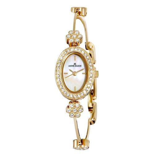AK Anne Klein Women's 109258MPGB Swarovski Crystal Gold-Tone