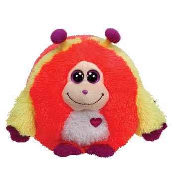 Ty Monstaz MURPHY - pink/yellow Small Plush - 1