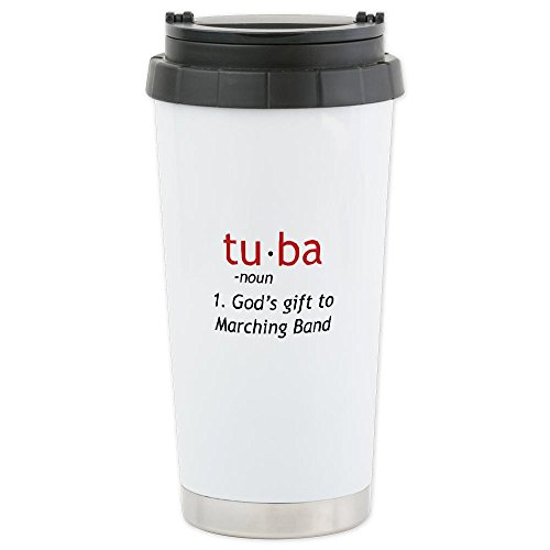 Cafepress Tuba Definition Ceramic Travel Mug - Standard Multi-Color