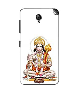 instyler MOBILE STICKER FOR MICROMAX UNITE 2A106