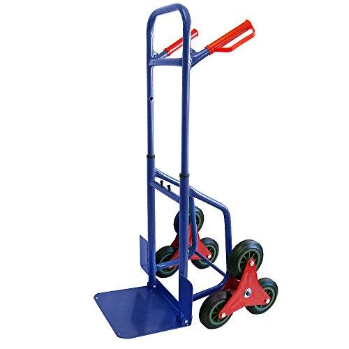 Grafner-Treppensteiger-Sackkarre-200-kg-ausziehbar-klappbar-Treppen-Sackkarre