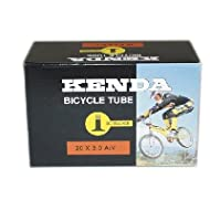 Kenda BMX Bicycle Tube - 20 x 3.0 - 32mm Schrader/Low Lead - 524Y03Q5
