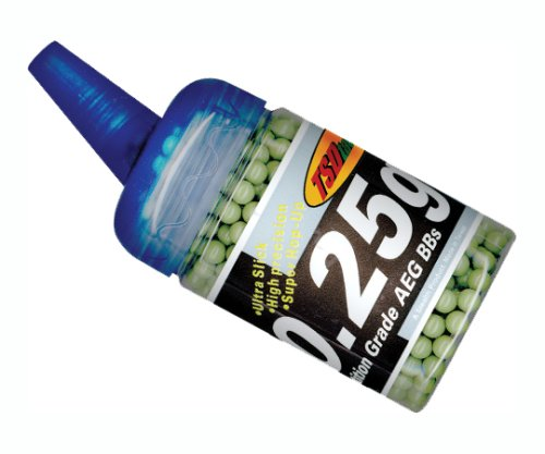 TSD Tactical 1,000 ct. Feeder Bottle Plastic Olive Drab Green Airsoft BBs (6mm, 0.25g)