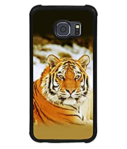 printtech Tiger Stunning Look Back Case Cover for Samsung Galaxy S6::Samsung Galaxy S6 G920