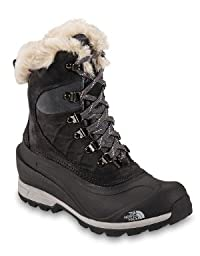 The North Face Chilkat 400 Boot - Women\'s Tnf Black/Zinc Grey, 9.5