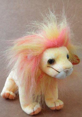 TY Beanie Babies Bushy the Lion Plush Toy Stuffed Animal - 1