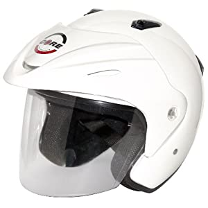 Core Jet Open-Face Helmet (White, Large)
