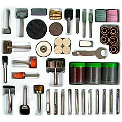 138pc Rotary Tool Polishing, Drilling, Cutting Accessory Kit. Product Category: Hardware > Miscellaneous