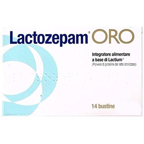 Junia Pharma Lactozepam Oro Integratore Alimentare 14 Bustine