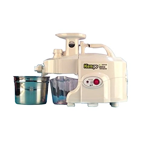 New GREEN POWER KEMPO GPT-E1303S Standard-Type Twin gear juicer-White ;TM79F-32M UGBA642879 (Green Power Twin Gear Juicer compare prices)