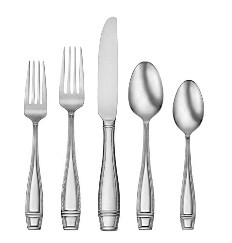 Oneida Ellis Classic 42-Piece Flatware Serving Set, Tableware Service for 8 (Spoon Ring Oneida compare prices)