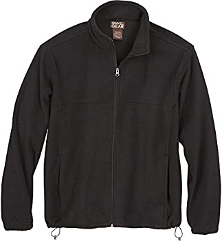 Gravel Gear Mens Zip-Up Fleece Jacket