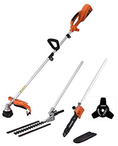 41jF%2B8vu9xL - BEST BUY #1 eSkde Electric Multi Tool 1200w Brush Cutter Strimmer Chainsaw Hedge Trimmer