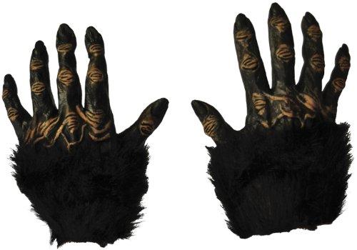 WMU 548997 Costume Hands Gorilla with Plush Fur (Gorilla Gloves)