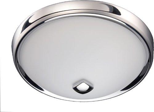 Chrome Bath Fans : Nutone chnt corrosion resistant decorative bath fan