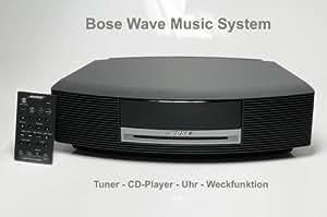 Bose Wave Music System, Tuner, Wecker, CD-Player