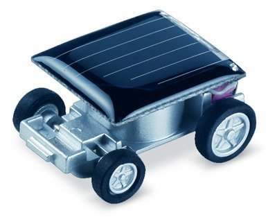 LanLan Solar Car - World's Smallest Solar Powered Car - Educational Solar Powered Toy - 1