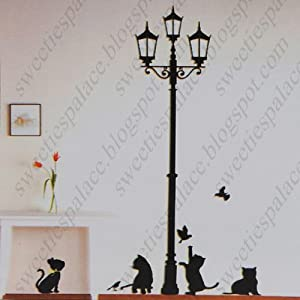 NJSELLER-CN DIY Decorative Wall Paper Art Sticker Mural Decal ...