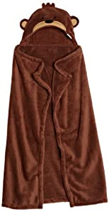 Carters Buddy Boa Blanket, Brown