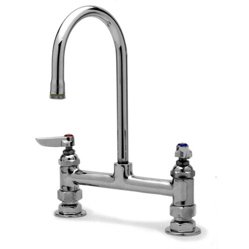 T&S Brass - Deck Mixing Faucet - Chrome coupons 2016