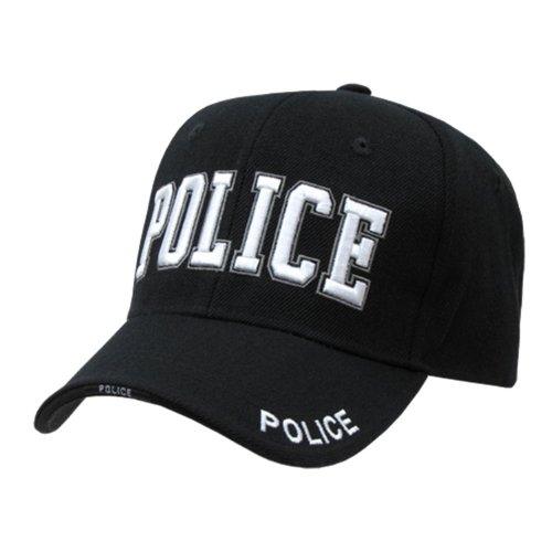 Quadruple Embroidery Law Enforcement Caps