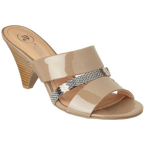 Mootsies Tootsies Yonah Womens Dress Sandals TAUPE 10 M Wmns