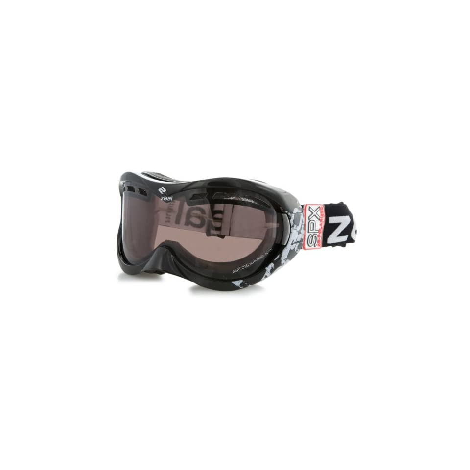 c81b35771b8f Zeal Optics Rapt Over the Glasses Snow Goggle with Polarized Lens (Rose  Brown