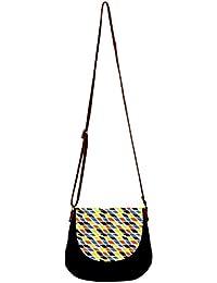 Barisa Epic Multicolor Canvas Cloth Casual Sling Bag - B01ENG3J4U
