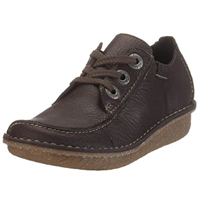 Clarks Funny Dream 203019404030  Women's Lace-Up Shoes  - Brown, 3 UK